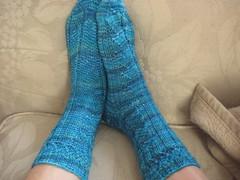 FO: TTL Mystery socks '09