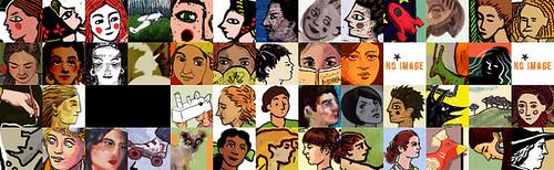 2009 Illustration Friday Thumbnails