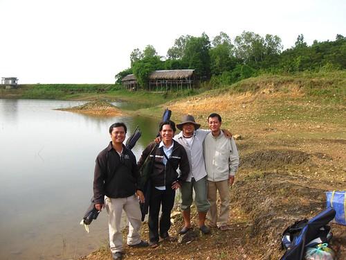 Từ trái qua: Đức Tú, Phú Sỹ, Toàn (Long Thành) và HungSun