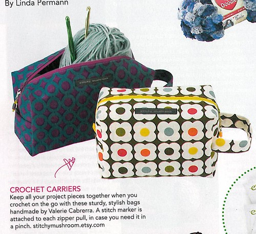 My bags made it into a magazine!