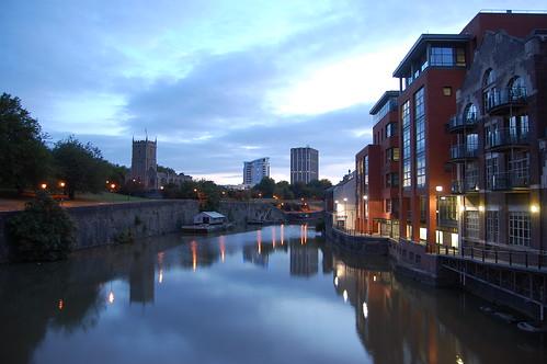 Early morning from Bristol Bridge