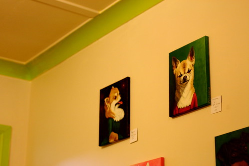 Saturday: Artwork in a Petone Cafe