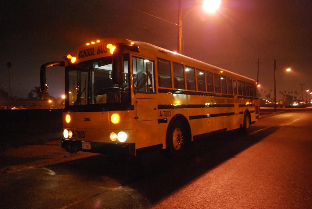Bluebird School Buses Cng California