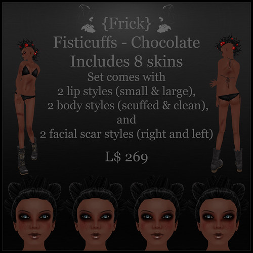 fisticuffs - chocolate - ad