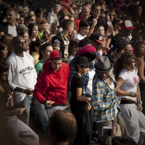 A Dance Tribute to Michael Jackson, Flash Mob Liege (Photo : Frederic Giet)