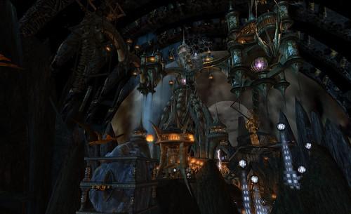 Omega Point Dark Fantasy Mysterious World