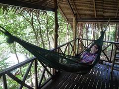 Chill out time auf unserer Veranda