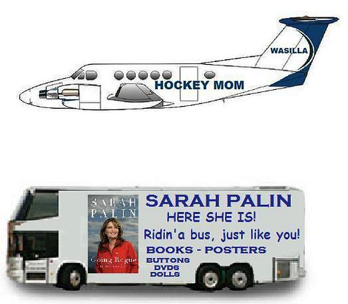 Palin: Just Plane Folks