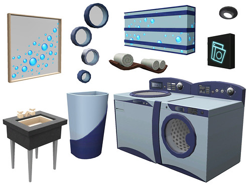 Sims Slovenija and The Items of Town Life Stuff