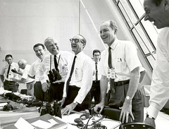 Apollo 11 Mission Officials Relax After Apollo...