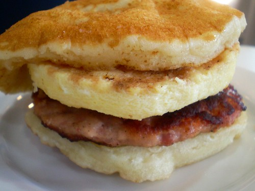 Jollibee pancake sandwich