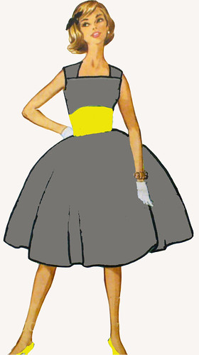 an illustration of the dress