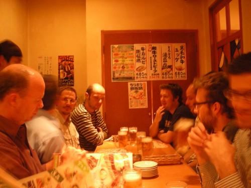 Dinner in Kobe