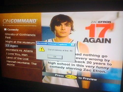 Zac Efron Fail
