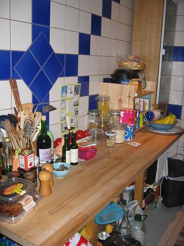 A kitchen full of stuff...