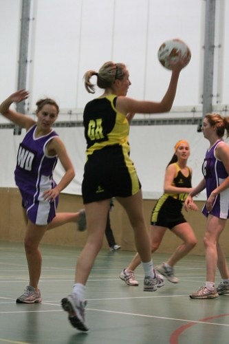 Womens Netball 1sts, 05/12/2009, Photo: Justyn Hardcastle