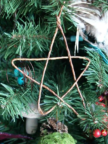 Twig Star Ornament