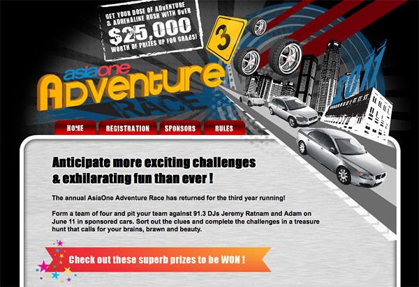 AsiaOne Adventure Race 3