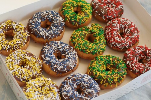 UAAP Final Four Doughnuts at Krispy Kreme
