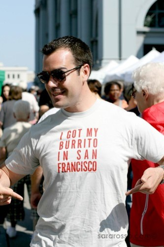 I Got My Burrito in San Francisco, San Francisco Ferry Building  Marketplace
