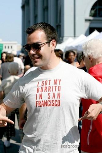 I Got My Burrito in San Francisco, San Francisco Ferry Building  Marketplace