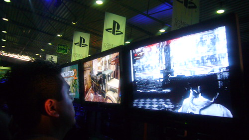 Gameplay en el Stand de Uncharted 2