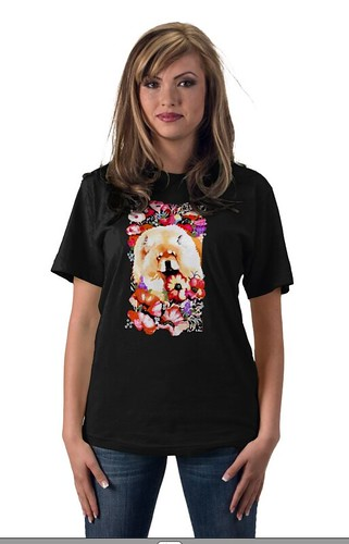 POPPY PRINCESS tshirt by Sandra Miller ©2009