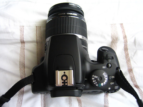 Top down view of my Canon 1000D