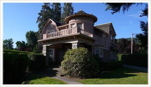 A real gem of a house, Ashland, Oregon.