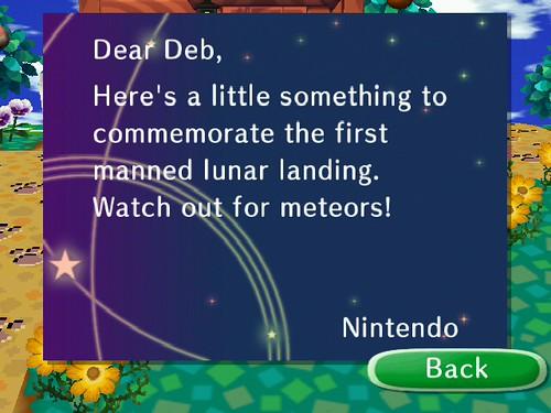 Letter from Nintendo