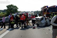 Schwerer Unfall A3 Höhe Breckenheim 06.09.09