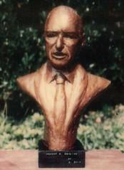 Bust of Robert Dowling