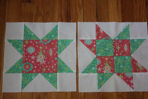 Christmas Quilt Progress Report July
