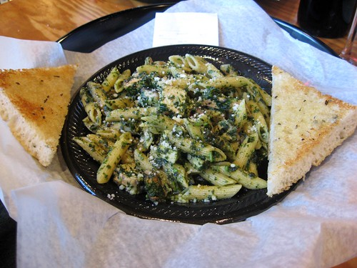 Penne Pesto with Chicken