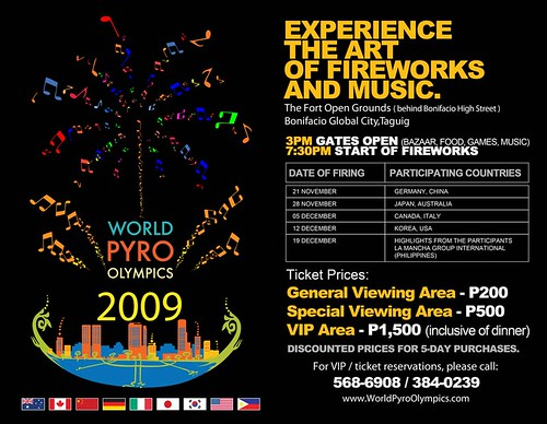 World Pyro Olympics poster