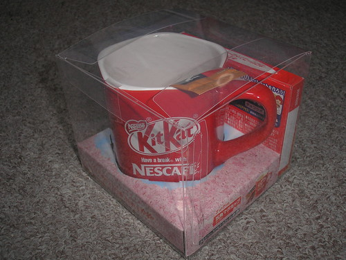Kit Kat mug set