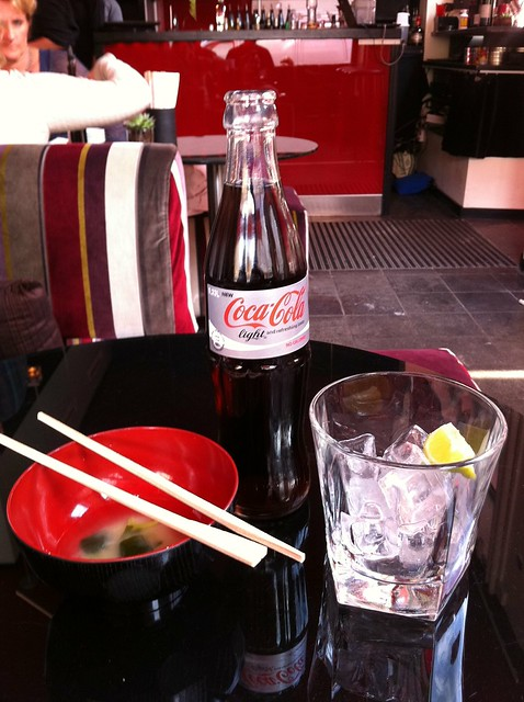 miso cola water ice lemon!