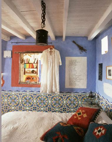 Inspiracin habitaciones rsticas con color