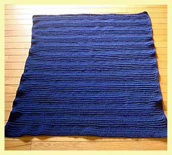 2 stitch crochet blanket