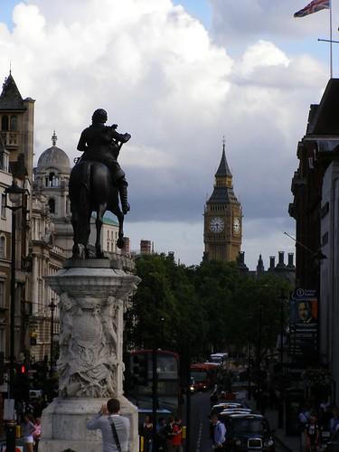 Vista desde Trafalgar Square
