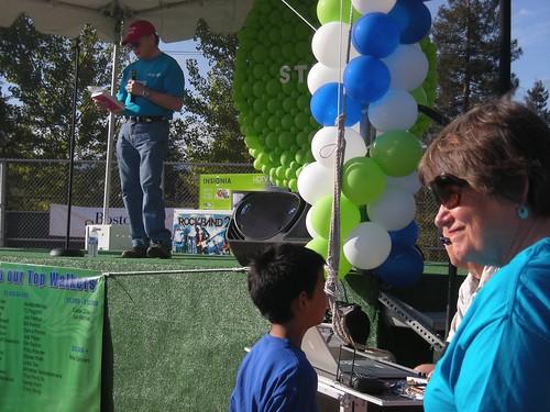 Jim Mitchell, Judy Wainwright, Silicon Valley Heart Walk 2009 photo: copyright 2009 Katy Dickinson