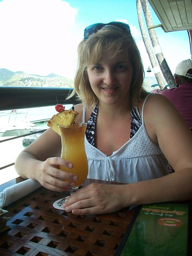 Me and my Birthday Mai Tai