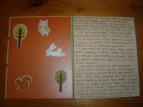 My Penpal Party letter!