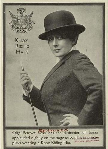 Olga in Derby Hat