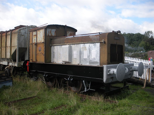 Ruston DS88, KFRPS, Liobhann/Leven 13/09/09. by Alasdair MacCaluim