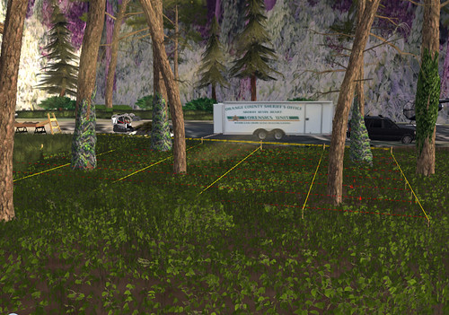 Crime Scene in Second Life