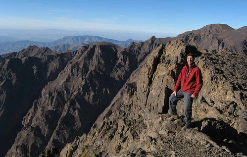 Another view from Toubkal
