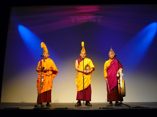 Tibetan monks at the Road to Asia festival 2009