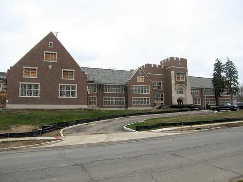 Monroe School renovation