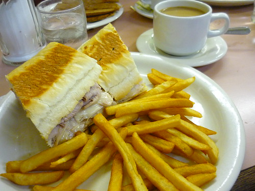 "A ""Cubano"" sandwich"